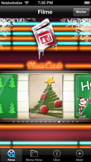 App Weihnachtsgrüße.Die Christmas Movie Cards App Bringt Weihnachtsgrüße Zu Freunden Und